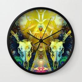 Sacred Deer Wall Clock