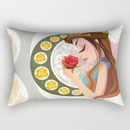 The Rose Queen Rectangular Pillow