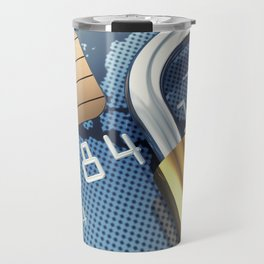 Safe and secure banking Travel Mug