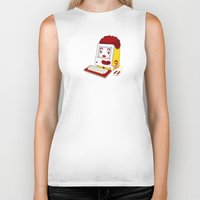 "mac Biker Tanks featuring ""MAC"" Donalds by Chris Dk"