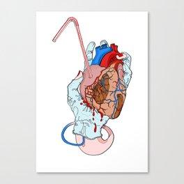 fresh heart Canvas Print
