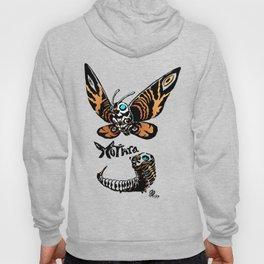 Mothra Kaiju Print Hoody