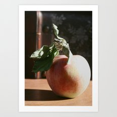 Portrait of an Apple Art Print