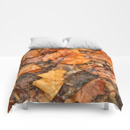 Drowning Autumn Decay Comforters