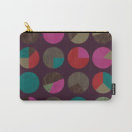 dots and shreds and colors Carry-All Pouch