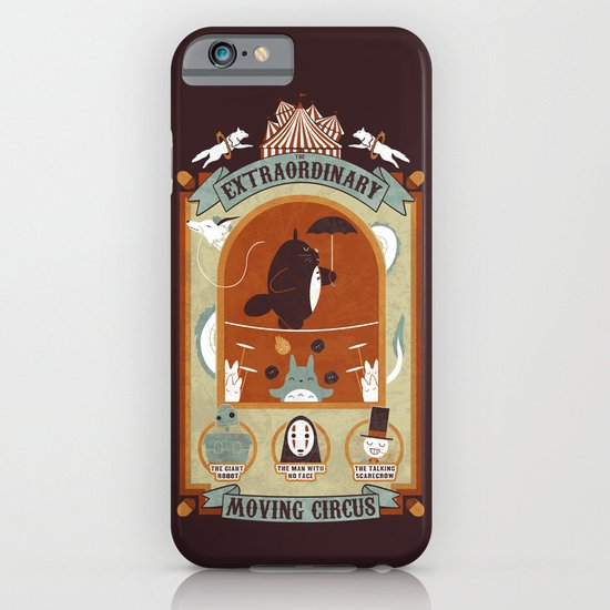 The Moving Circus iPhone & iPod Case