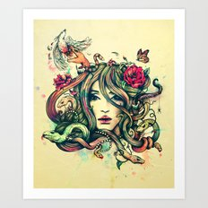 Beauty Before Death Art Print