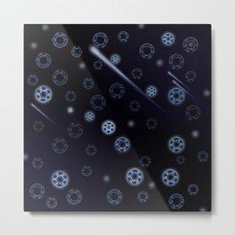 Galaxy Unknown Metal Print