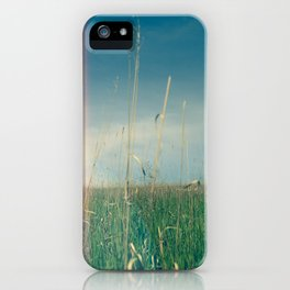 Her Heart Was a Wide Open Landscape iPhone Case