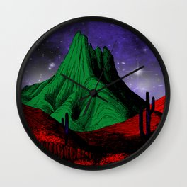 Painting in the Dark Wall Clock