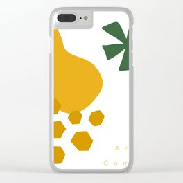 Pineapple: Deconstructed Clear iPhone Case