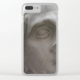 Looking Right Clear iPhone Case