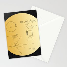 Voyager 1 Golden Record #2 Stationery Cards