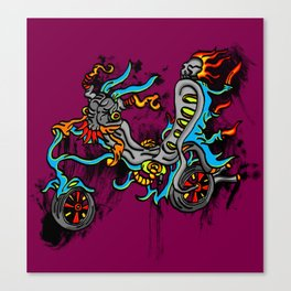 Motor Madness Canvas Print
