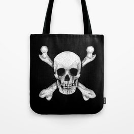 Jolly Roger Pirate Skull Flag Tote Bag
