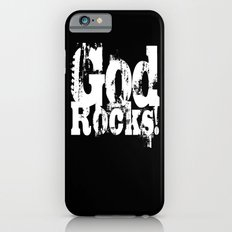 God Rocks in distressed times! iPhone 6s Slim Case