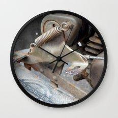 Rusty Harley Wall Clock