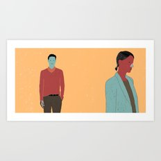 TOGETHER-11 Art Print