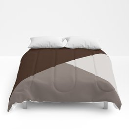 Chocolate Tones Comforters