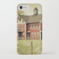 american beauty iPhone & iPod Cases featuring Americana by Farmhouse Chic
