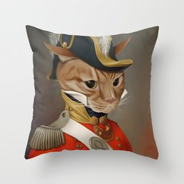 Sir Comet Thelonious, esq Throw Pillow