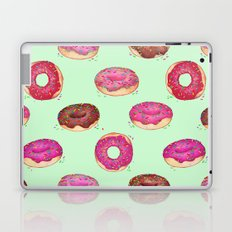 Delicious Donuts - on pale mint green  Laptop & iPad Skin