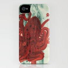 Octopus Beach iPhone (4, 4s) Slim Case