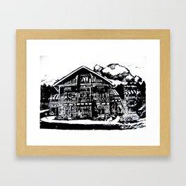 Jyringin Talo I Framed Art Print