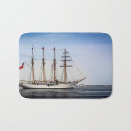 Sail Boston - Chilean Esmeralda. Bath Mat