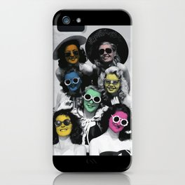 Summertime Blues iPhone Case