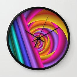pattern -34- Wall Clock