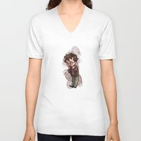 will graham V-neck T-shirts featuring will graham by krakenface