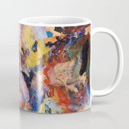 Dark Paint Splash Coffee Mug