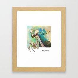 Henri Mantisse Framed Art Print