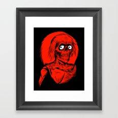 Longing for Brains Framed Art Print