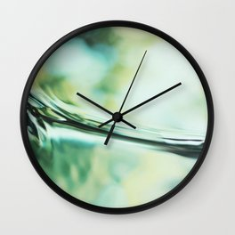Lethe - Abstract Photography Wall Clock