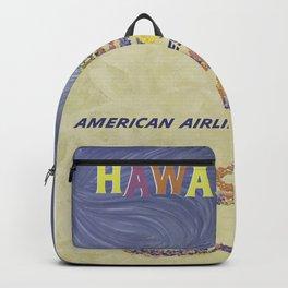 Vintage poster - Hawaii Backpack