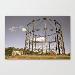Gasometer Beauty Canvas Print