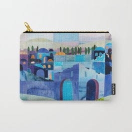 Jerusalem in Blue Carry-All Pouch