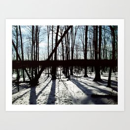 The Trees All Whisper My Name Art Print