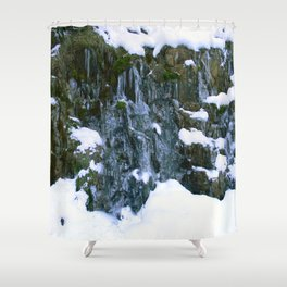 Frozen in Time.... Shower Curtain