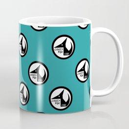Crazy Fox - Little logos (Teal Edition) Coffee Mug