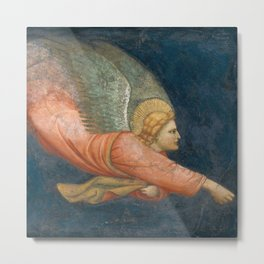 Two Angels - North Italian Painter (first quarter 14th century) 1 Metal Print