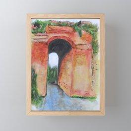 Arco Felice, Revisited Framed Mini Art Print