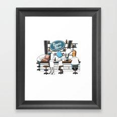 Roger's place Framed Art Print