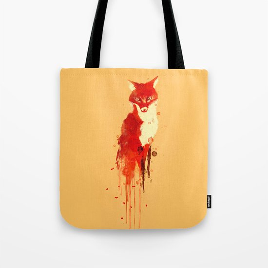 The fox, the forest spirit Tote Bag
