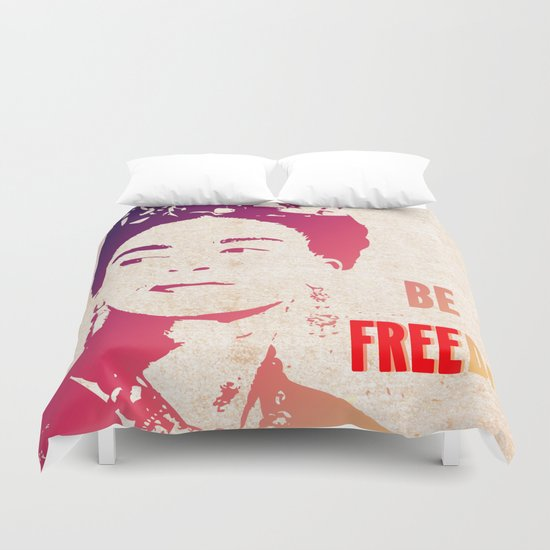 Be FREEda Duvet Cover