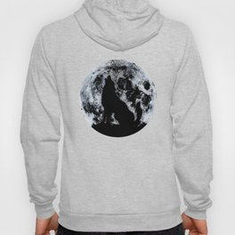 Wolf And Moon Hoody
