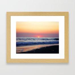 Sunset at Manuel Antonio Framed Art Print