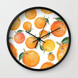 Rome Forest Oranges Wall Clock